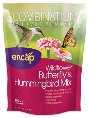 Butterfly & Hummingbird Flower Mulch Seed
