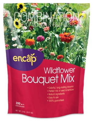 Wildflower Bouquet Mulch Seed