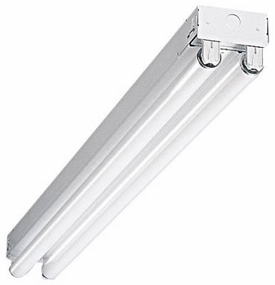 Fluorescent Strip Light, T8, Commercial, 2-Lamp, 4-Ft., 64-Watt