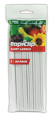 Plant Labels, 8-In., 30-Pk.