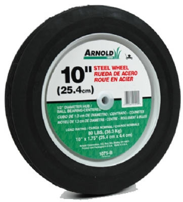10-Inch Steel Universal Lawn Mower Wheel