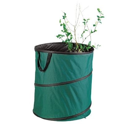 Pop-Up Yard / Lawn Refuse Bag Container, 60-Gal.