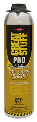 Pro Floor & Wall Adhesive Foam, 26.5-oz.