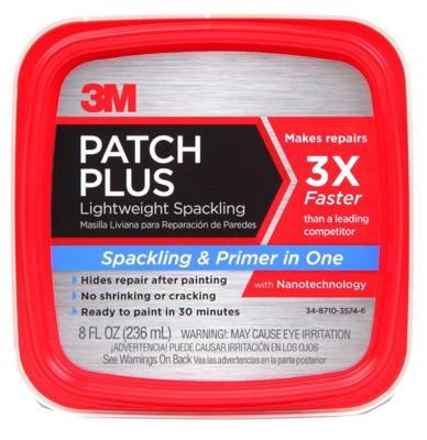 Spackling Patch Plus Primer, 8-oz.