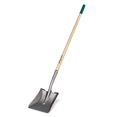Shovel, Square-Point, 48-In. Wood Handle With Cushion Grip