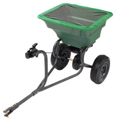 Capacity Tow Behind Broadcast Spreader, 75-Lb.