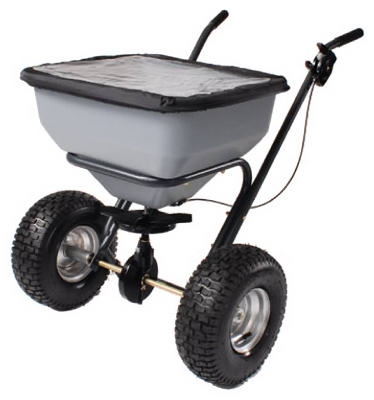 Capacity Broadcast Spreader, 130-Lb.
