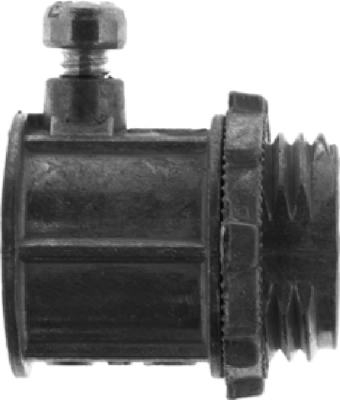 5-Pack 1/2-Inch Set Screw Type Connector
