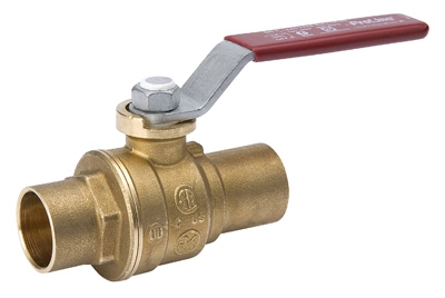 Ball Valve, Lead Free, 1/2-In. Solder
