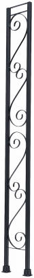 Windsor Railing Flat Column, 8-Ft.