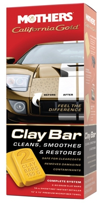Clay Bar Automotive Cleaning System