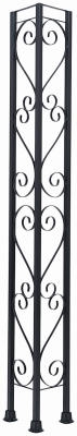 Windsor Railing Corner Column, 8-Ft.