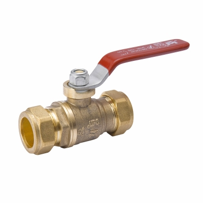 Ball Valve, Lead Free, 1/2-In. Compression