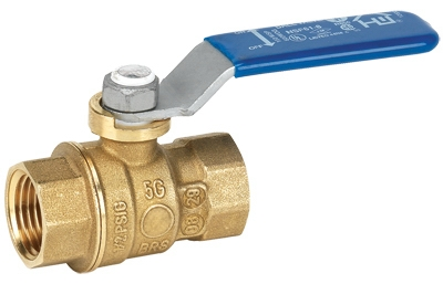 Full Port Ball Valve, Lead Free, Forged Brass, 3/8-In. FPT