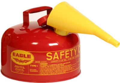 Safety Gas Can, Type I, 2-Gal.