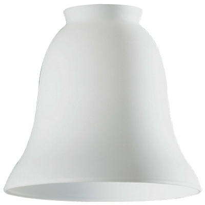 White Opal Glass Ceiling Fan Light Shades, Must Purchase in Quantities of 6