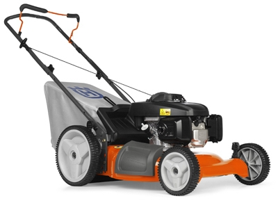 3-In-1 Push Lawn Mower, High-Wheel, 160cc Engine, 21-In.