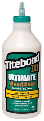 III Ultimate Wood Glue, 1-Qt.