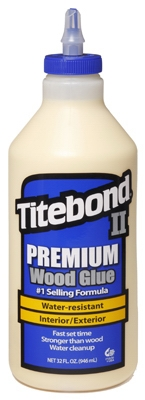 II Premium Wood Glue, 1-Qt.