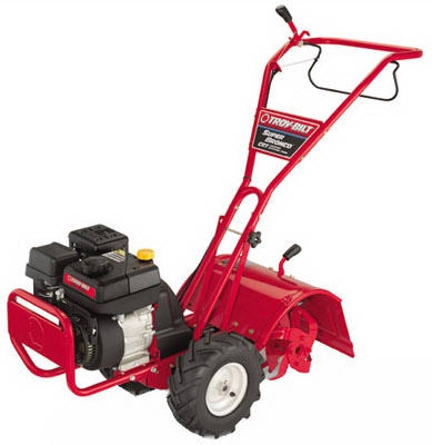 Super Bronco Rear Tine Tiller, 208cc Engine
