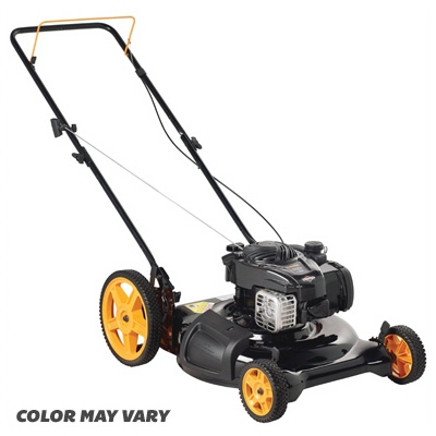 2-n-1 Gas Lawn Mower, Hi Rear Wheels, 140cc Engine, 21-In.
