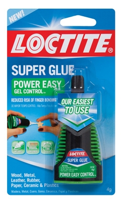 Super Glue, Power Easy Control, 4-gm.
