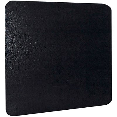 Thermal Stove/Wall Board, Floor Protector, Black, 32 x 42-In.