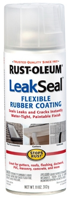 LeakSeal Spray Coating, Clear, 12-oz.