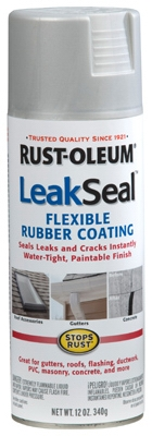 LeakSeal Spray Coating, Aluminum, 12-oz.