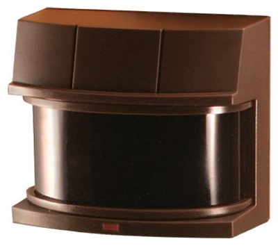 DualBrite Motion-Sensor Light Fixture,  Deluxe, Bronze