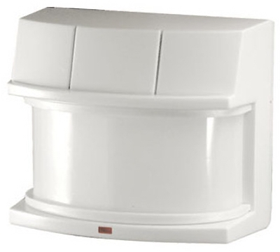 DualBrite Motion-Sensor Light Fixture, Deluxe, White