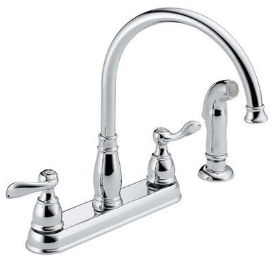 Windemere Chrome 2-Handle Kitchen Faucet