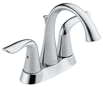Lahara Lavatory Faucet, Chrome Finish, 2-Handle