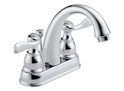 Windemere Lavatory Faucet, 2-Handle, Centerset, Chrome