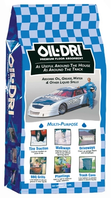 Oil Absorbent, 8-Lbs.