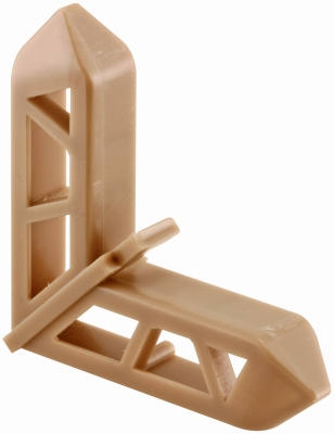 3/4 x 7/16-Inch Bronze Plastic Screen Frame Corners for Pella Frames, 20-Pack