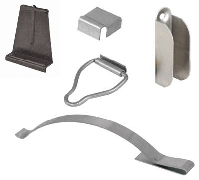 Mill Finish Steel Screen Hanger Kit