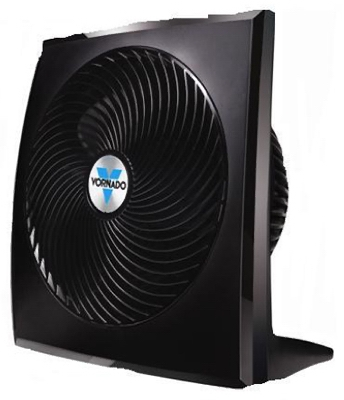 Whole Room Circulator Fan, Black