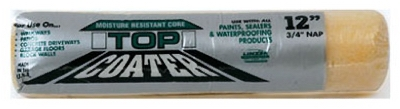 Top Coater Driveway Roller Cover Refill, 3/4-In Nap, 12-In.