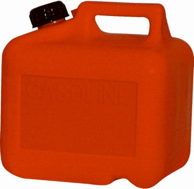 Gas Can, Self-Venting, Red Plastic, 2-Gal. 8-oz.