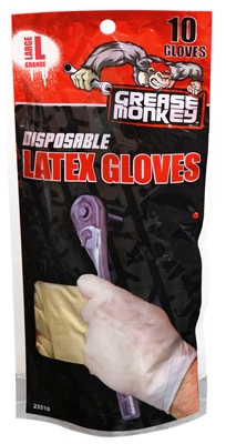 Latex Gloves, Disposable, 10-Ct.