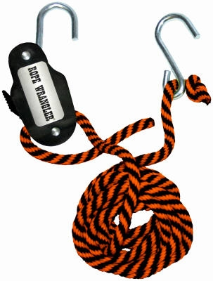 Rope Wrangler Tie Down, 3/8-In. x 16-Ft.