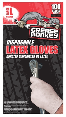 Latex Gloves, Disposable, 100-Ct.
