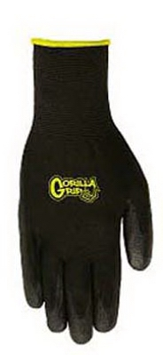 Gorilla Grip Glove, Polymer Coating, Medium