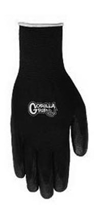 Gorilla Grip Glove, Polymer Coating, XL