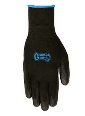 Gorilla Grip Glove, Polymer Coating, Large