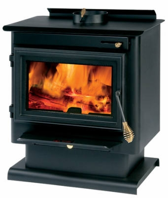Pedestal Non-Catalytic Wood Stove