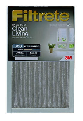 Filtrete 20x25x1-In. Dust-Reduction Pleated Furnace Filter, Must Purchase in Quantities of 6