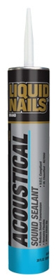 Acoustical Sound Sealant, Latex, 28-oz.