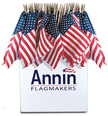 U.S. Handheld Flag, 8 x 12-In., Must Purchase in Quantities of 48